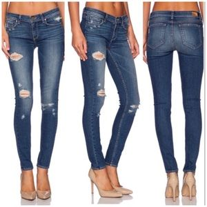 Paige Verdugo Ultra Skinny Distressed Jeans Sz 26
